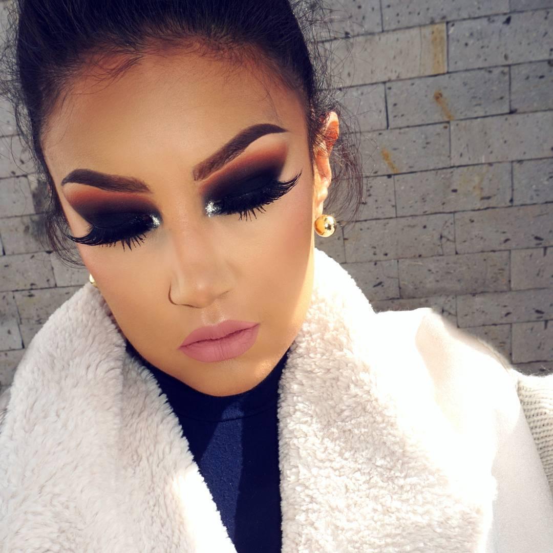 новогодний макияж глаз 2020 фото 6