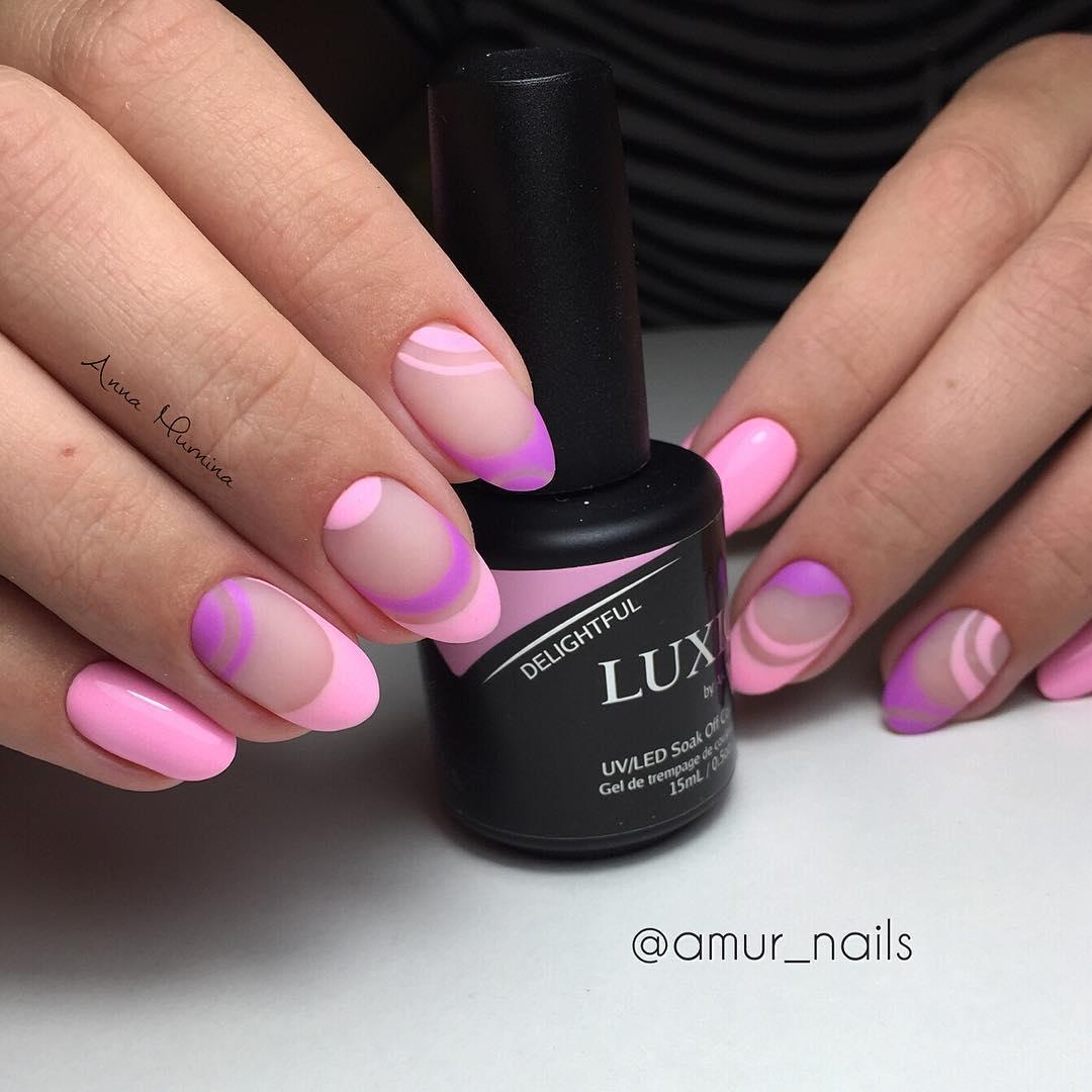 розовый френч фото 36