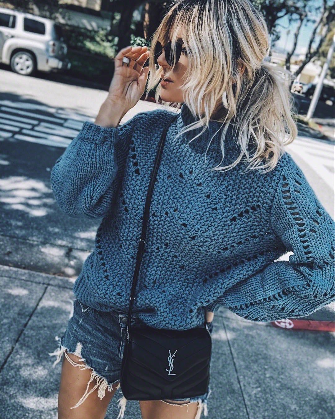 ажурный свитер фото 8