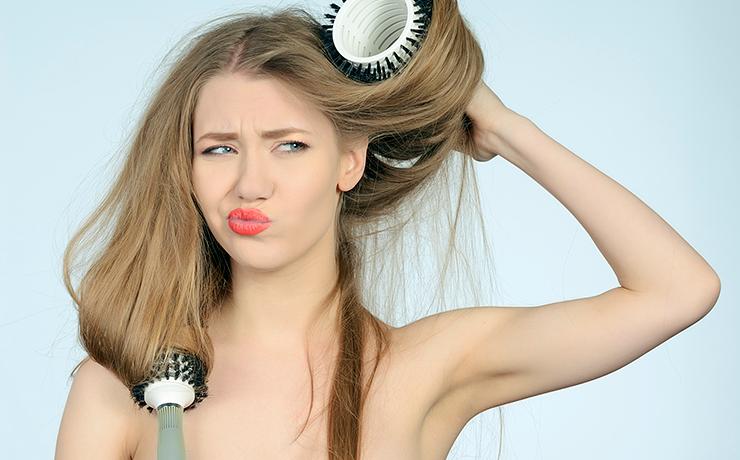 ошибки при выпрямлении волос фото 4