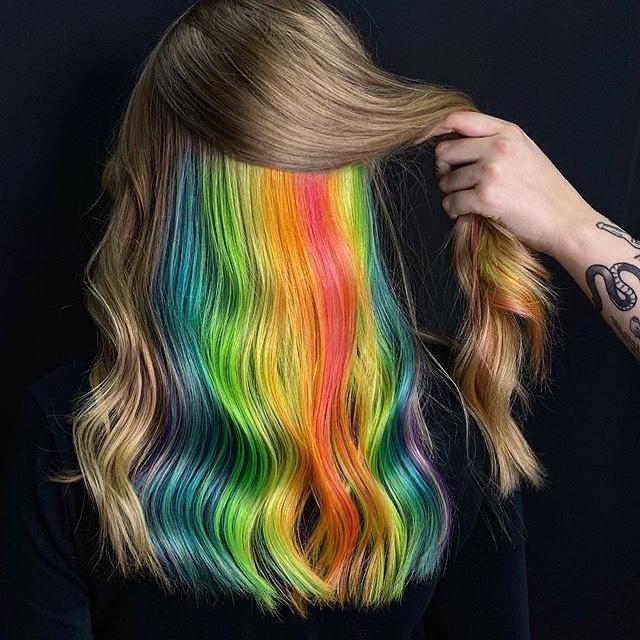 Окрашивание волос 2020 фото 6