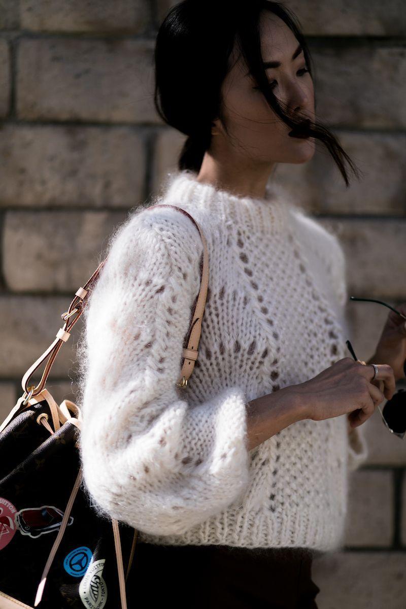 ажурный свитер фото 11