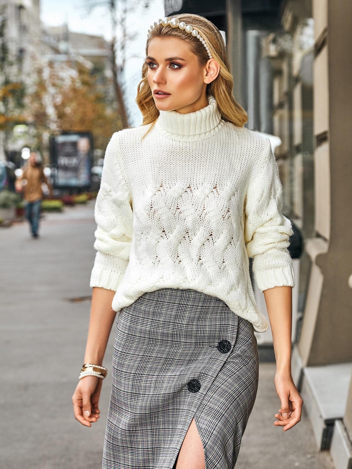 ажурный свитер фото 10
