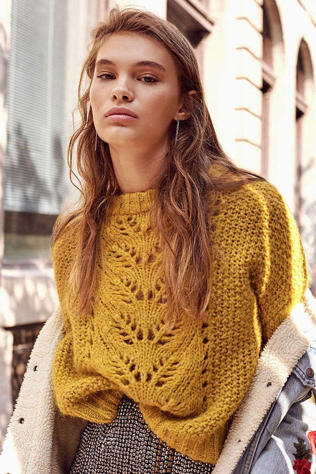 ажурный свитер фото 9