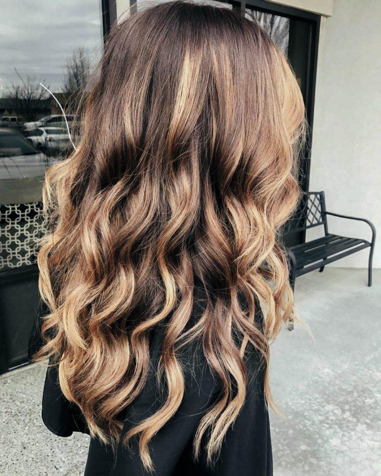 Окрашивание волос 2020 фото 11