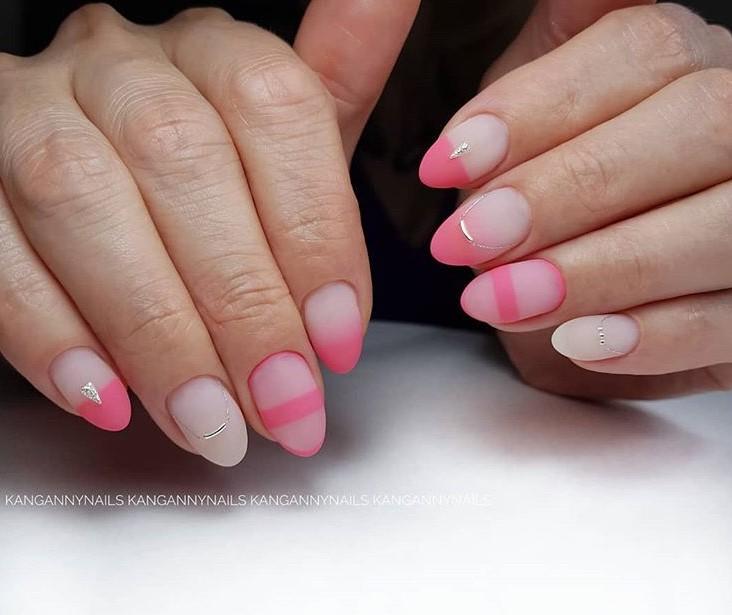 розовый френч фото 41