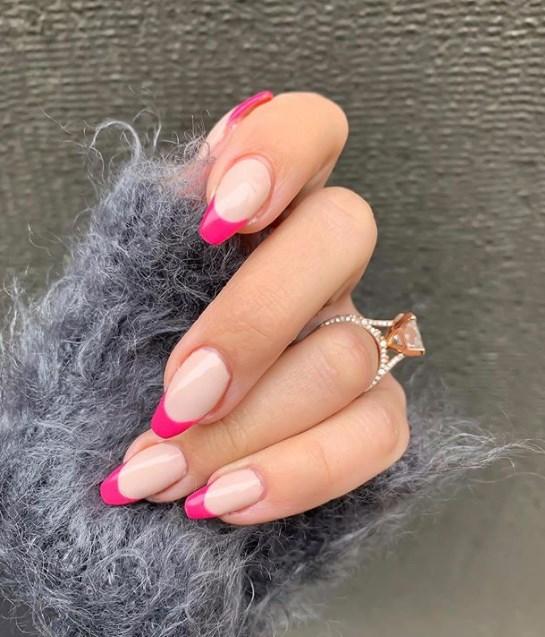 розовый френч фото 7