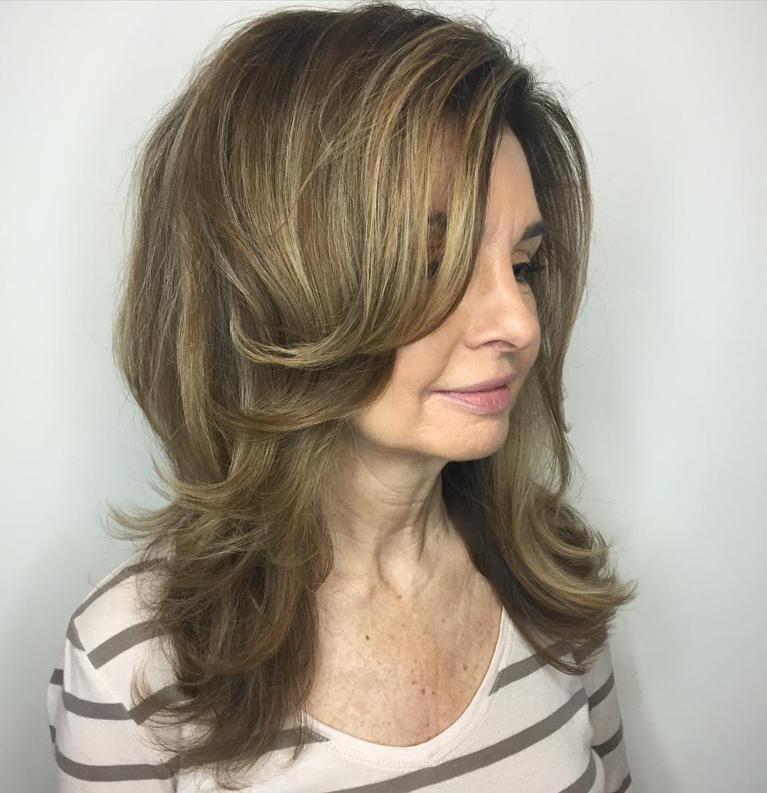 стрижки для женщин после 50 лет на разную длину волос фото 2