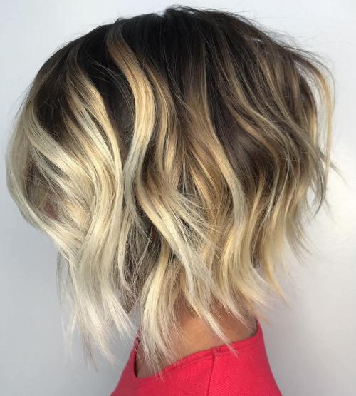 Женские стрижки на средние волосы HAIR 2018, фото каталог 94