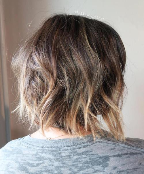 Женские стрижки на средние волосы HAIR 2018, фото каталог 73
