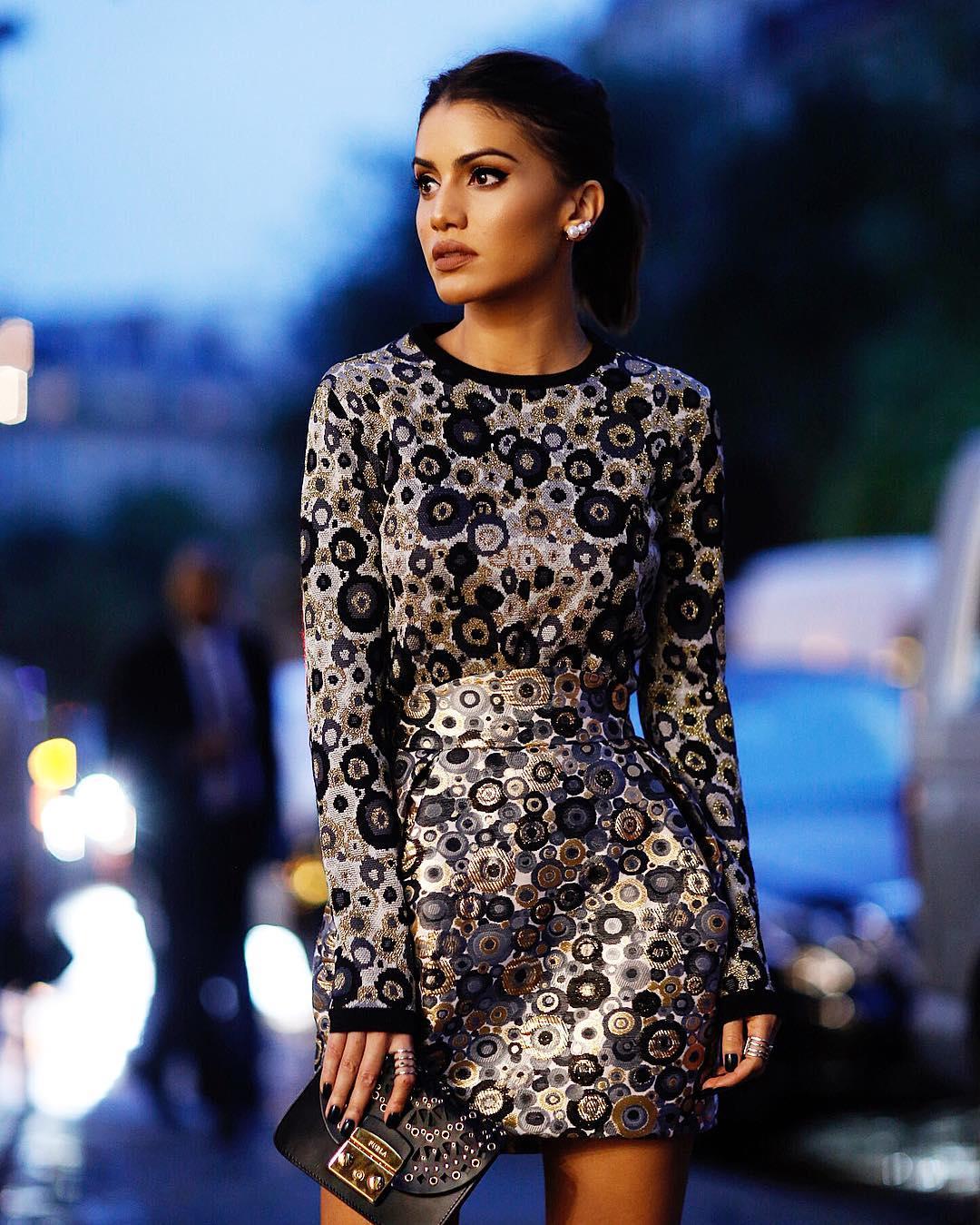 платье с длинным рукавом 2020 фото 4