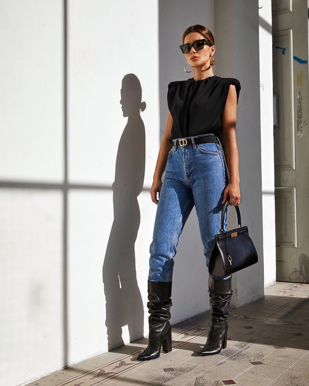 Модные женские джинсы весна-лето 2020 фото 6