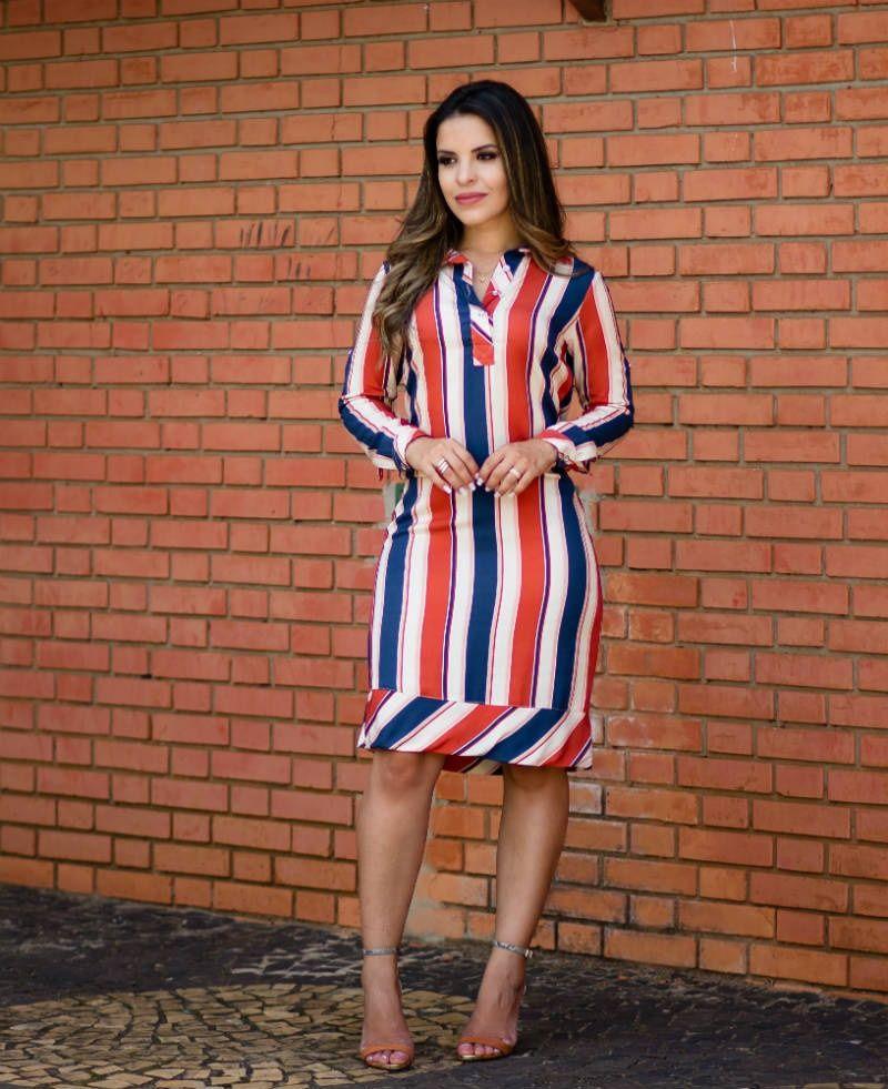 платье в полоску фото 7