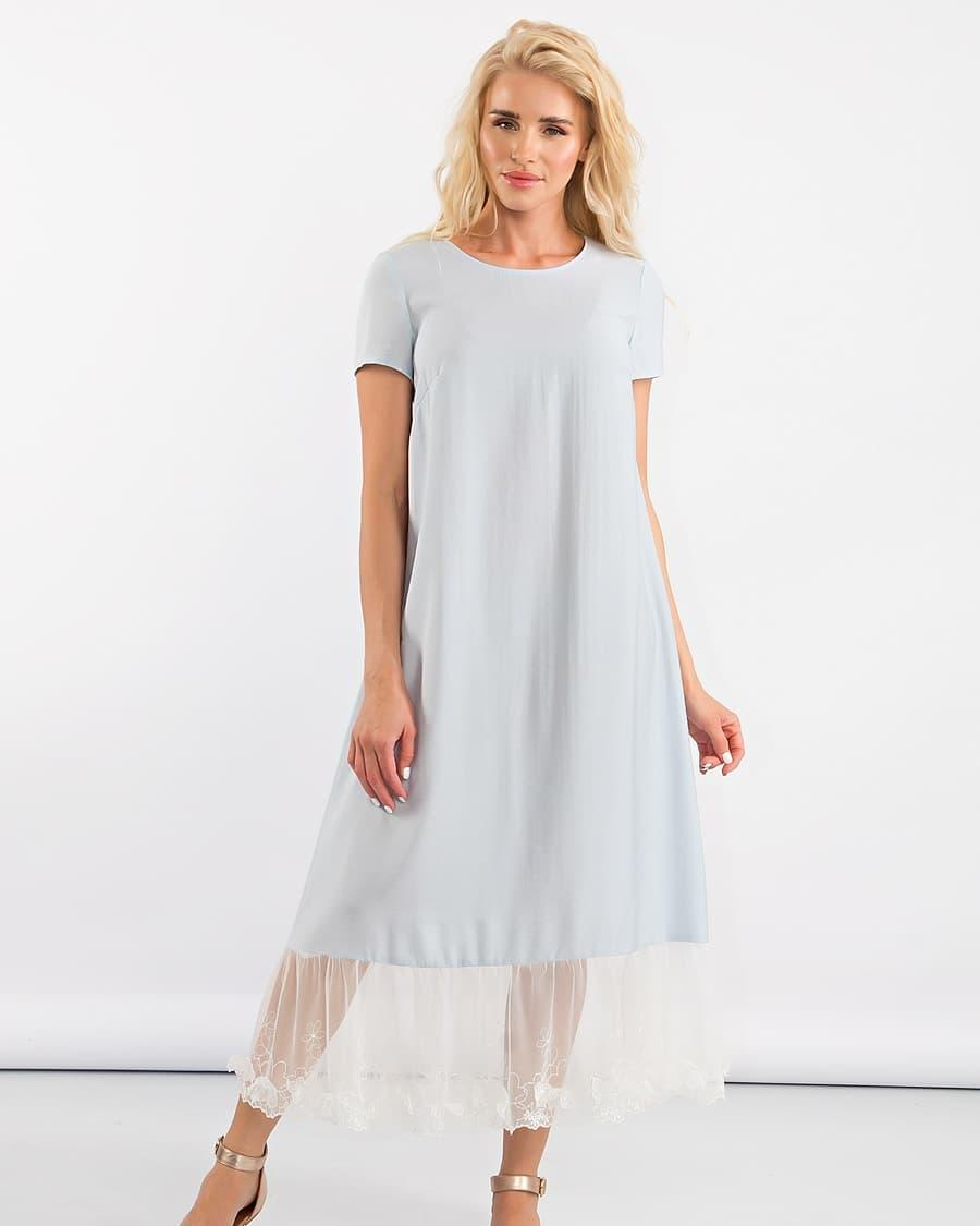 Платье-трапеция 2020 фото 14