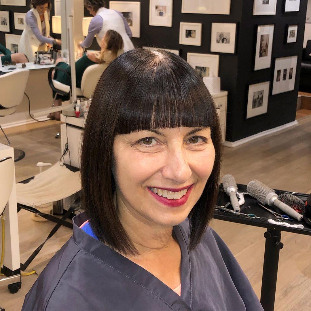 модные стрижки на короткие волосы для женщин 40 лет фото 4