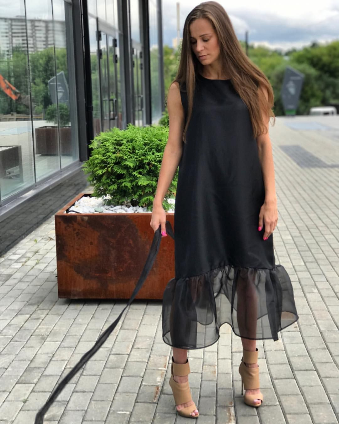 Платье-трапеция 2020 фото 15