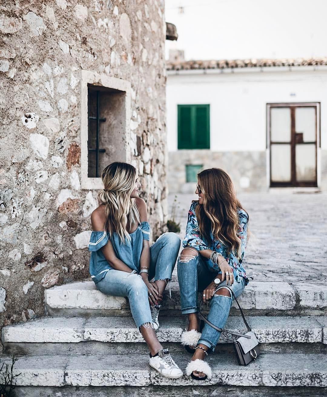 Джинсы 7/8 весна-лето 2018 год : 23 стильных образов для каждой красотки