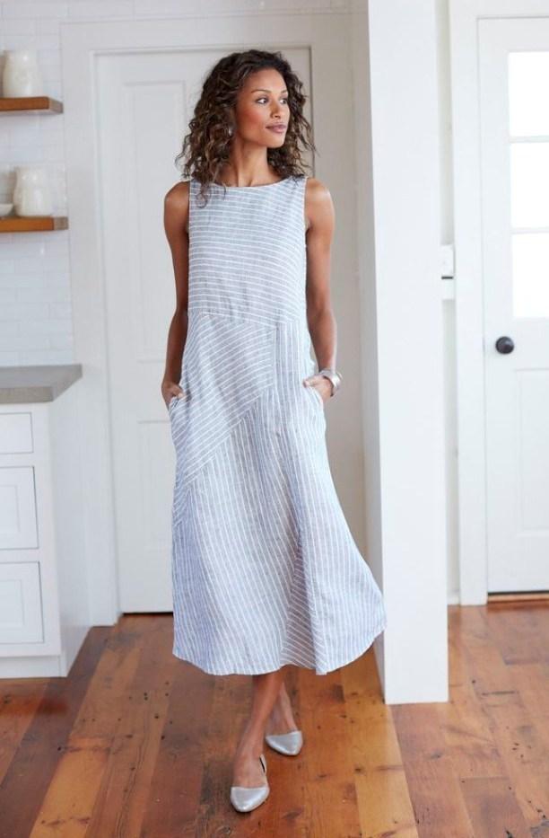 Платье-трапеция 2020 фото 11