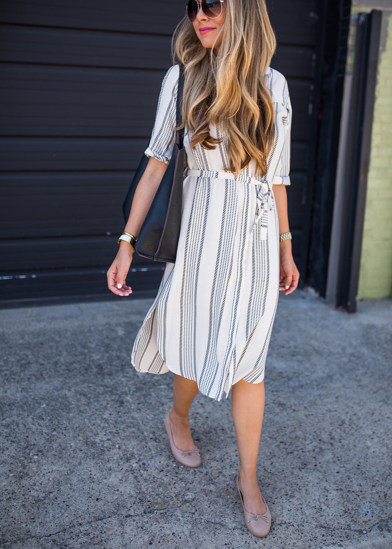 платье в полоску фото 14