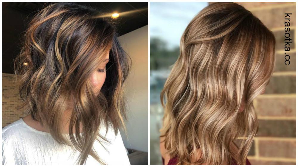 Модное окрашивание волос 2019-2020 - фото, тенденции, техники окрашивания на разную длину волос
