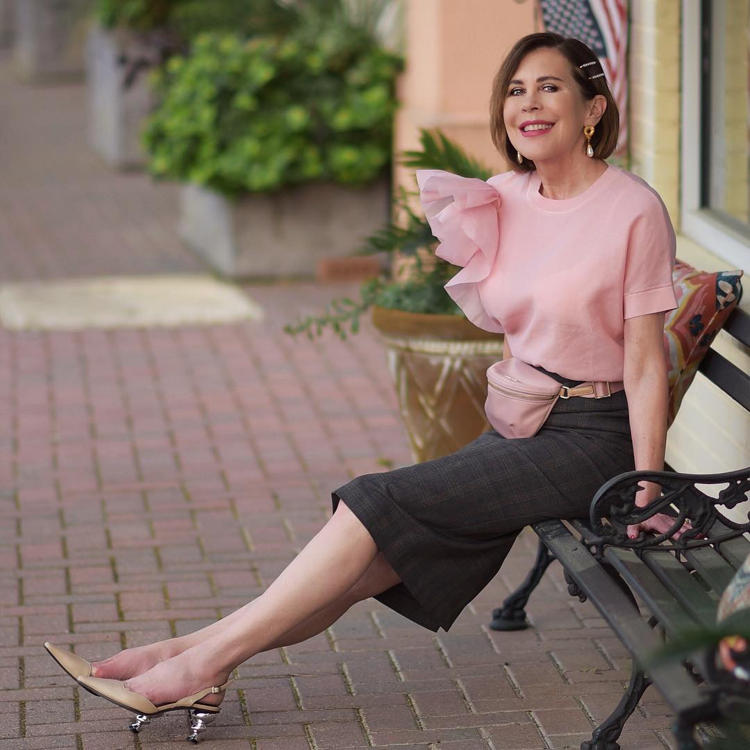 Модные летние луки для женщины 40 лет фото 12