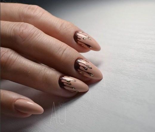"""Melted mani: """"Плавящийся"""" дизайн ногтей фото 2"""