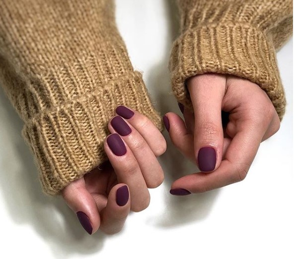 маникюр на короткие ногти фото 7