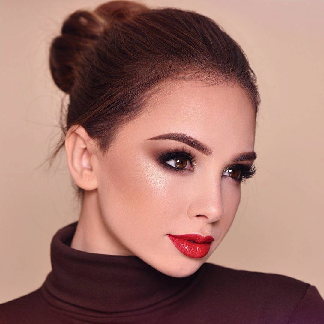 Вечерний макияж фото 8