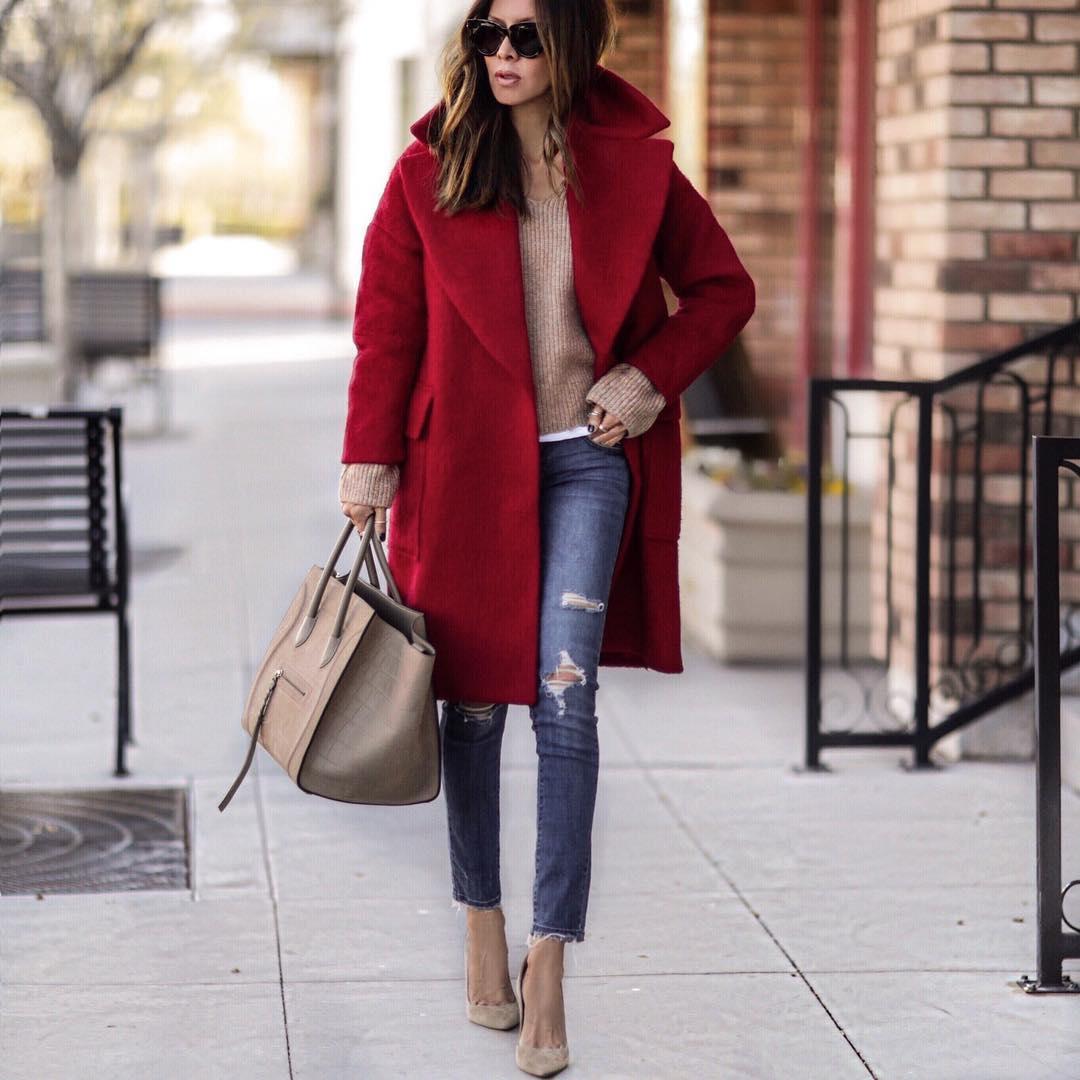 как стильно носить рваные джинсы осенью 2019 фото 6