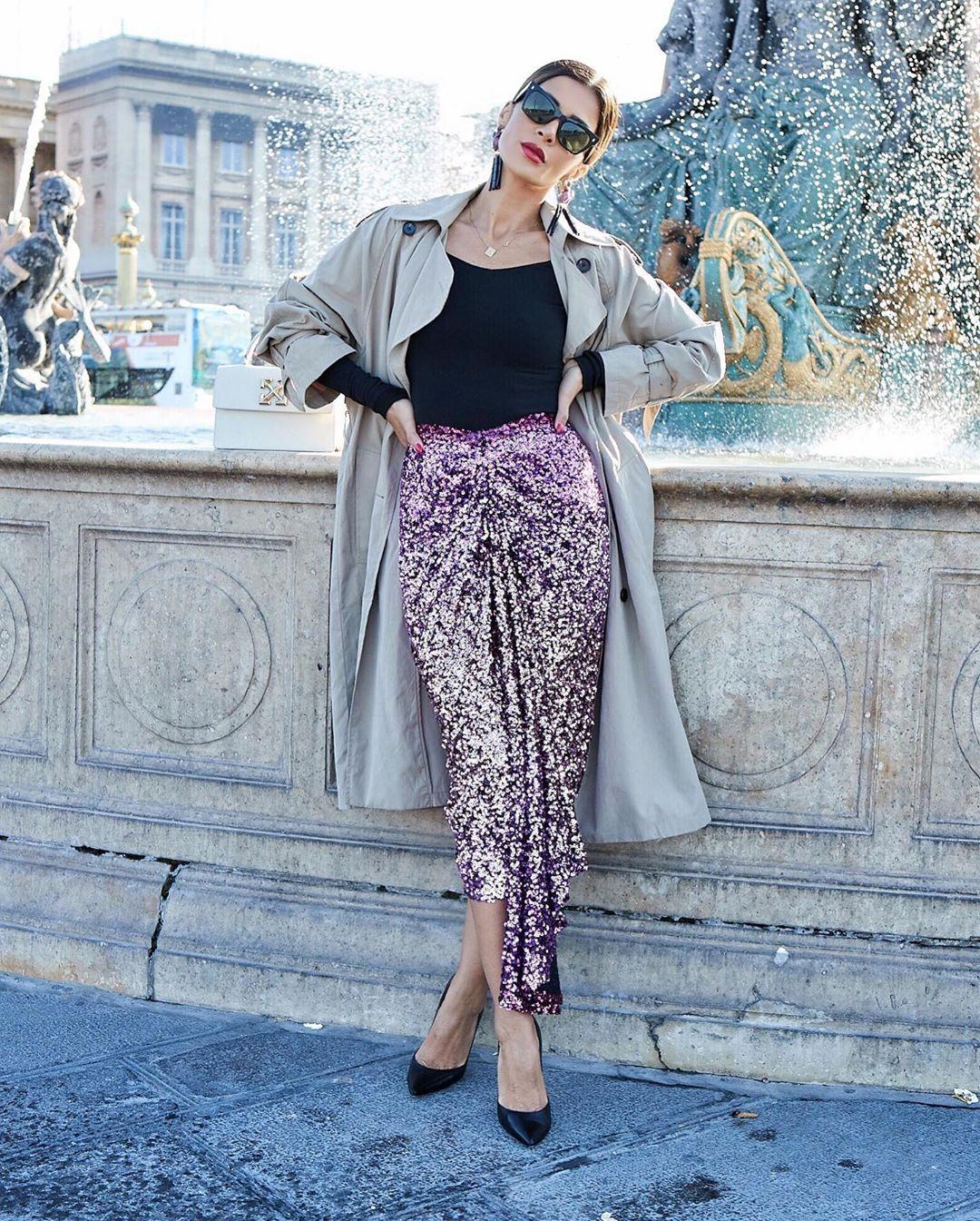 длинные юбки осени 2019 фото 3