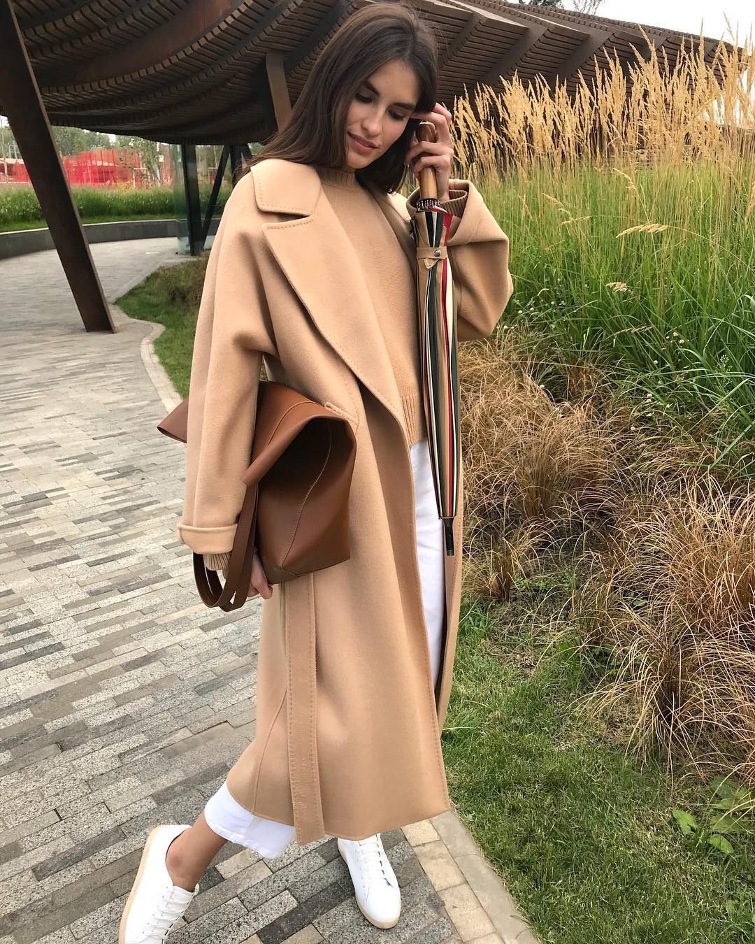 Модные пальто осень-зима 2018-2019 фото 9