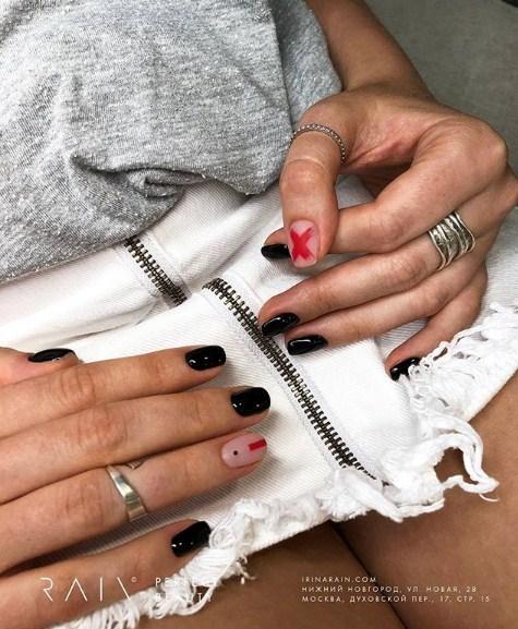 рисунки на коротких ногтях фото 25