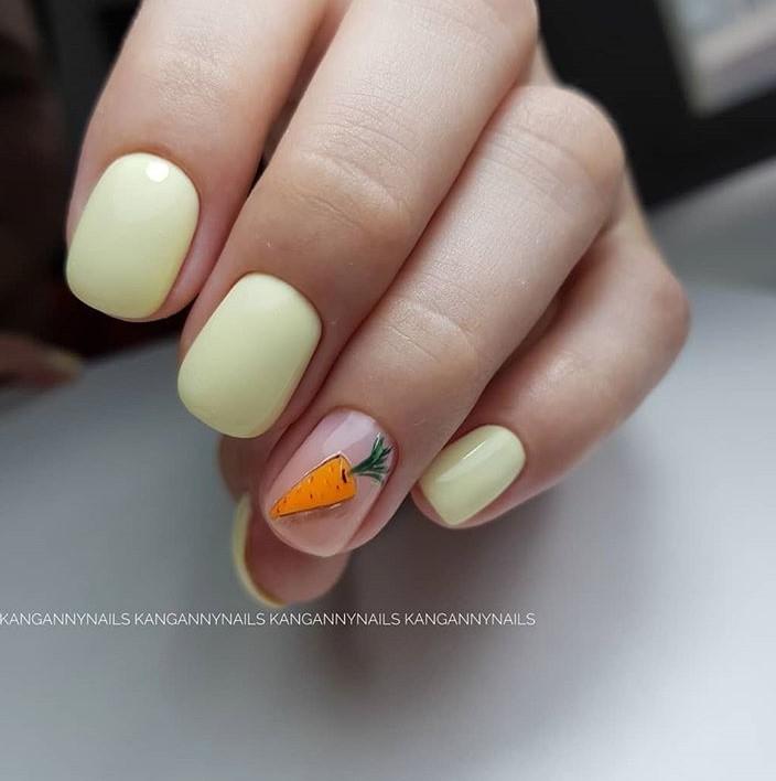 рисунки на коротких ногтях фото 36