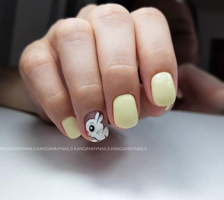 рисунки на коротких ногтях фото 37