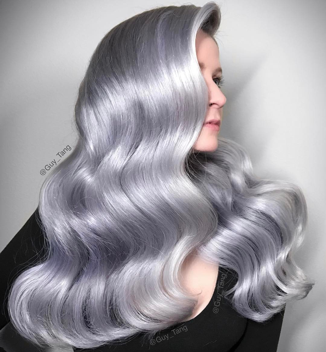 20 шикарных идей окрашивания волос в серый тон, который не оставит вас незамеченной