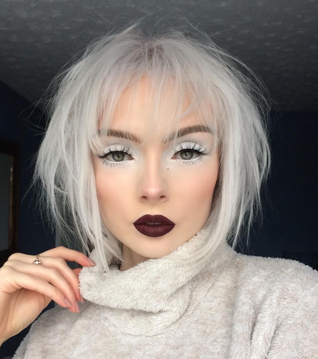 белый макияж фото 7