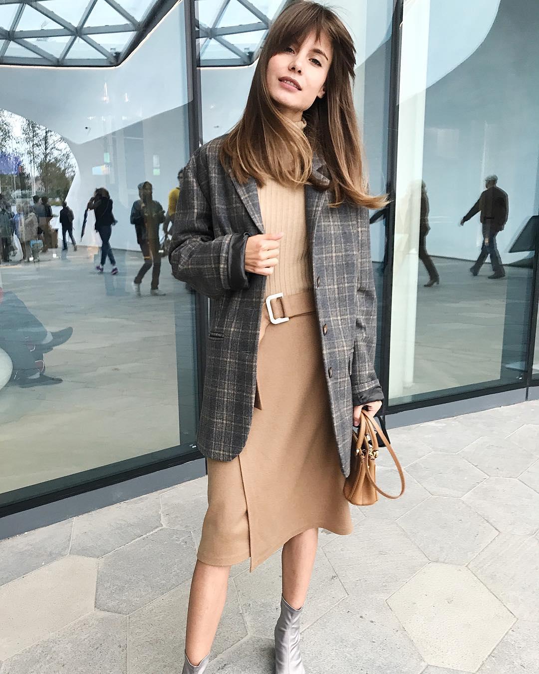Модные образы для деловых женщин осень-зима 2018-2019 фото 1