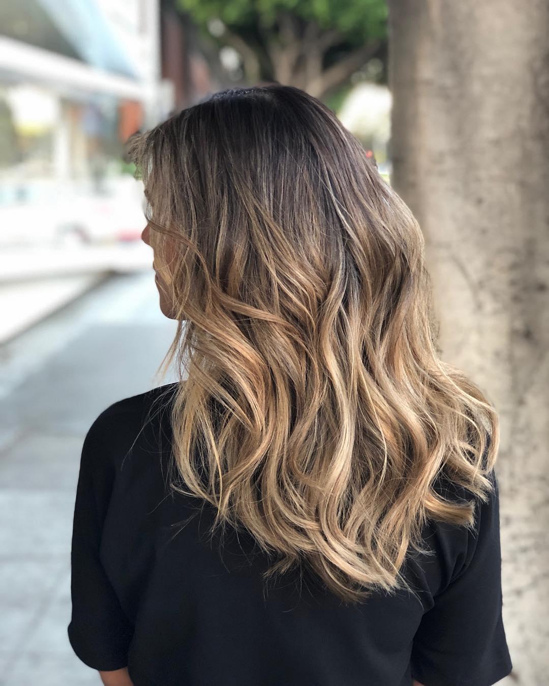 Окрашивание волос зима 2019-2020 фото 3