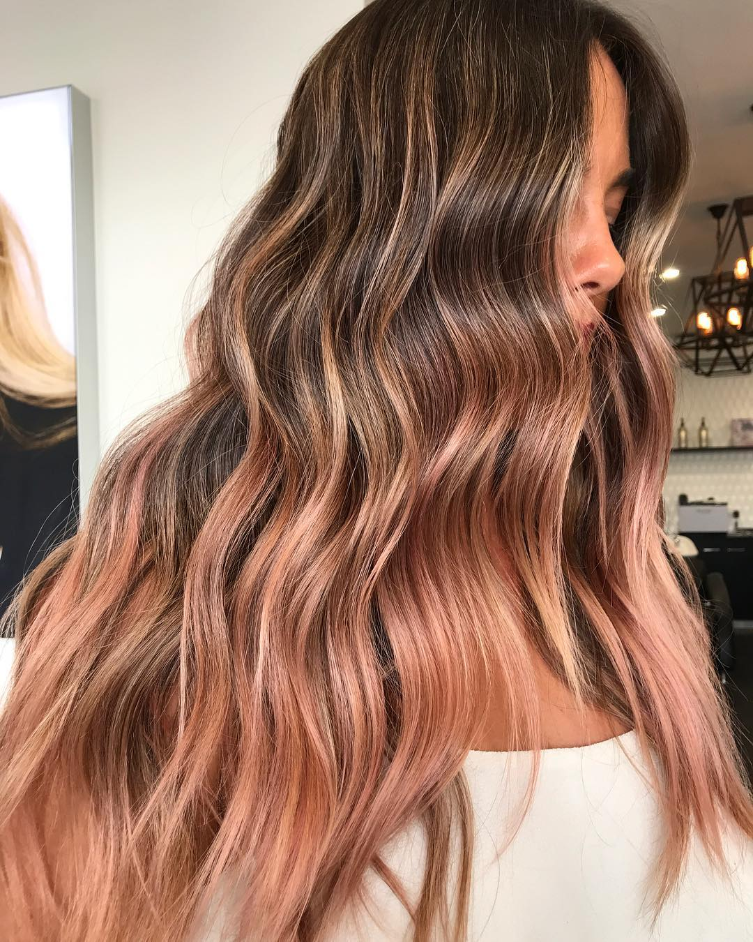 Окрашивание волос зима 2019-2020 фото 14