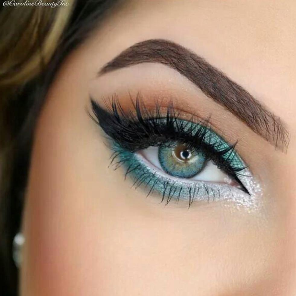 макияж под глазами фото 19