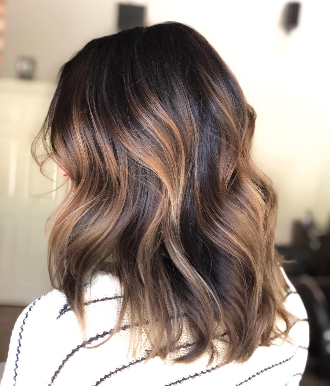 Окрашивание волос зима 2019-2020 фото 13