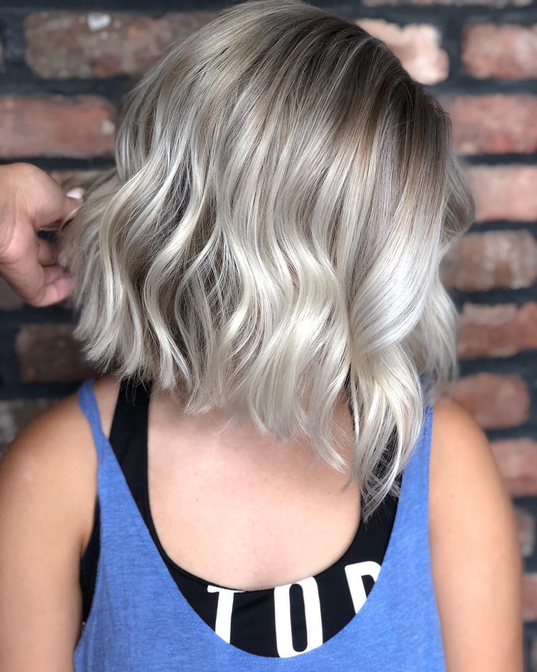 Окрашивание волос зима 2019-2020 фото 12
