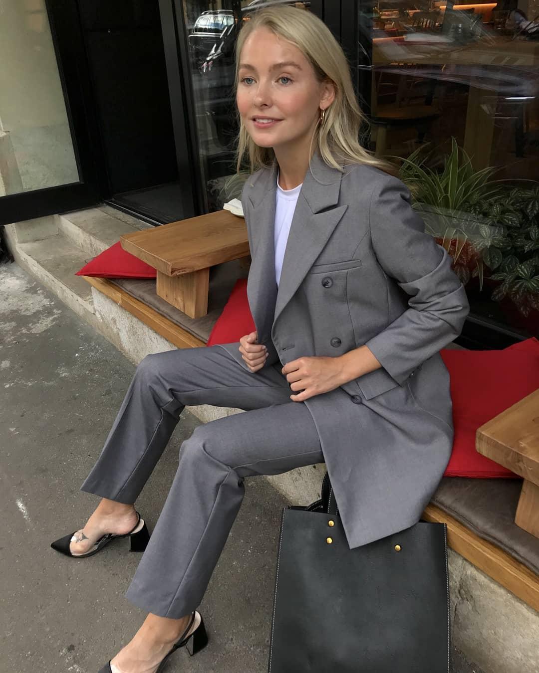 Модные образы для деловых женщин осень-зима 2018-2019 фото 6