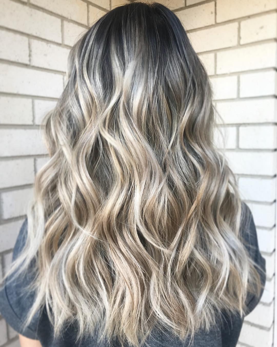 Окрашивание волос зима 2019-2020 фото 5