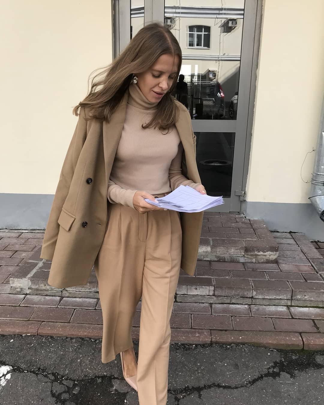 Модные образы для деловых женщин осень-зима 2018-2019 фото 8