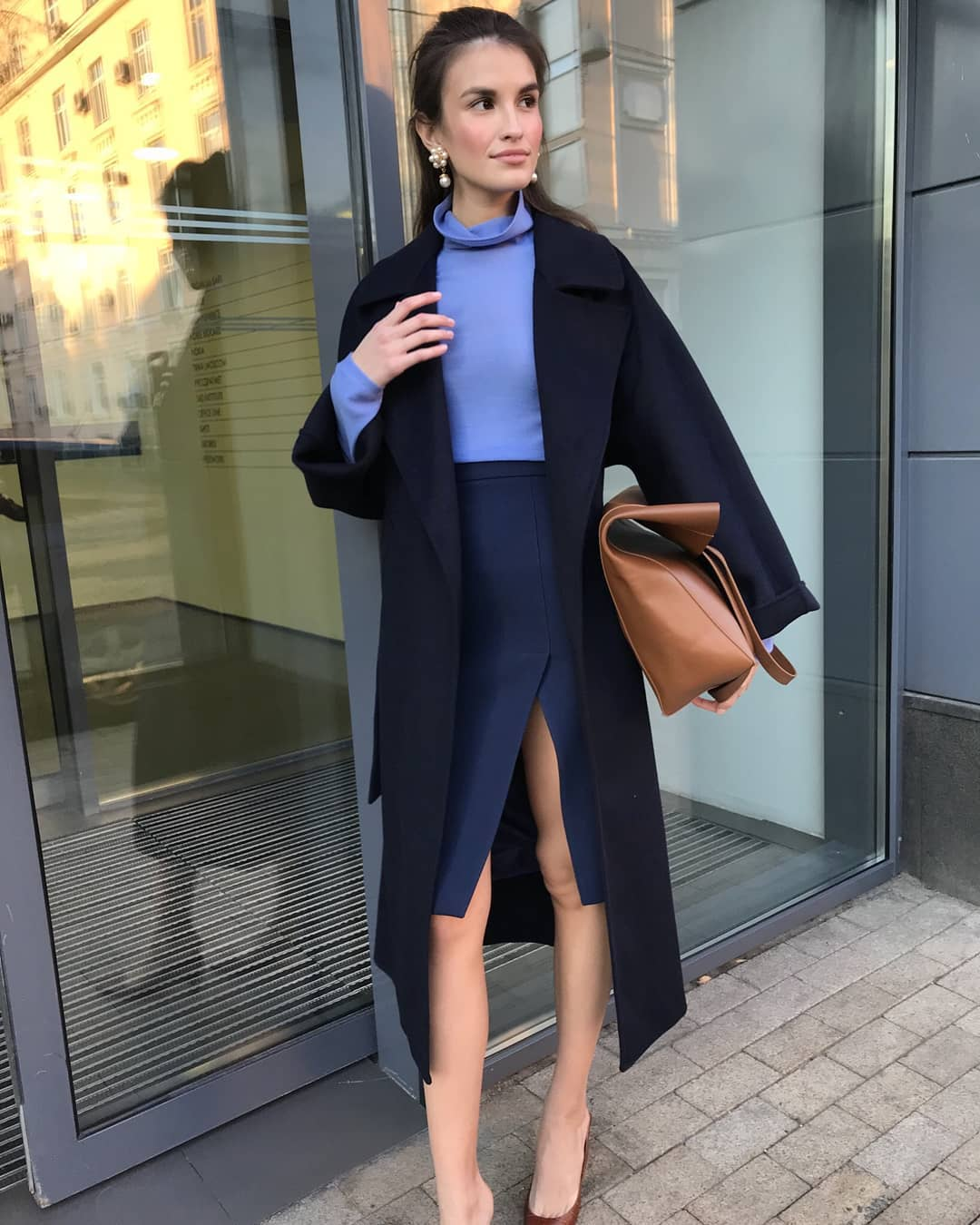 Модные образы для деловых женщин осень-зима 2018-2019 фото 11