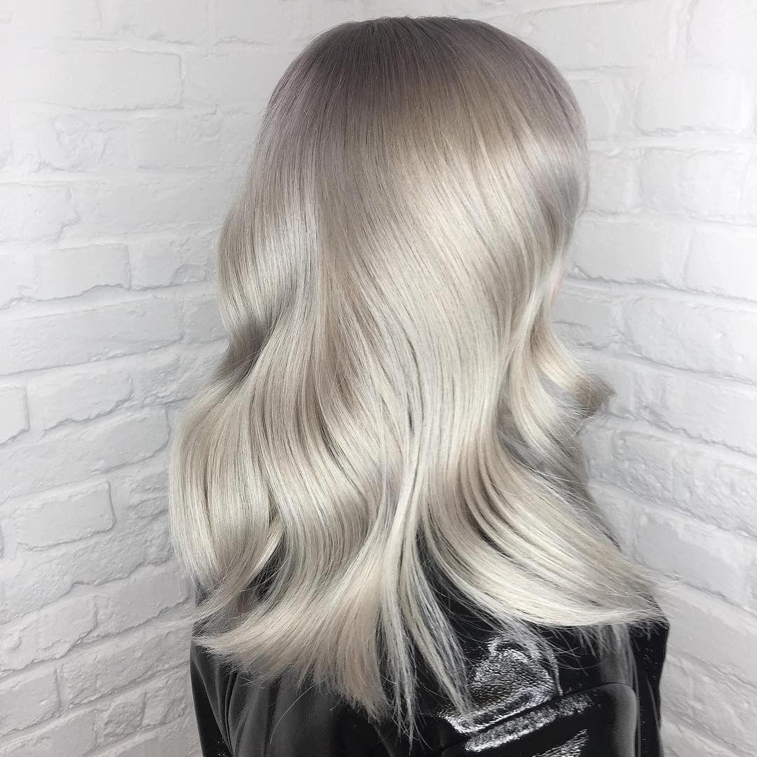 серые волосы 2019-2020 фото 5