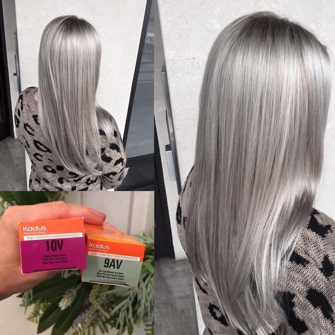 серые волосы 2019-2020 фото 6