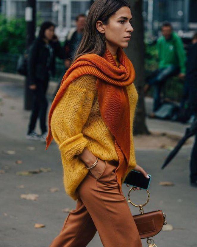 яркий свитер с чем носить фото 5