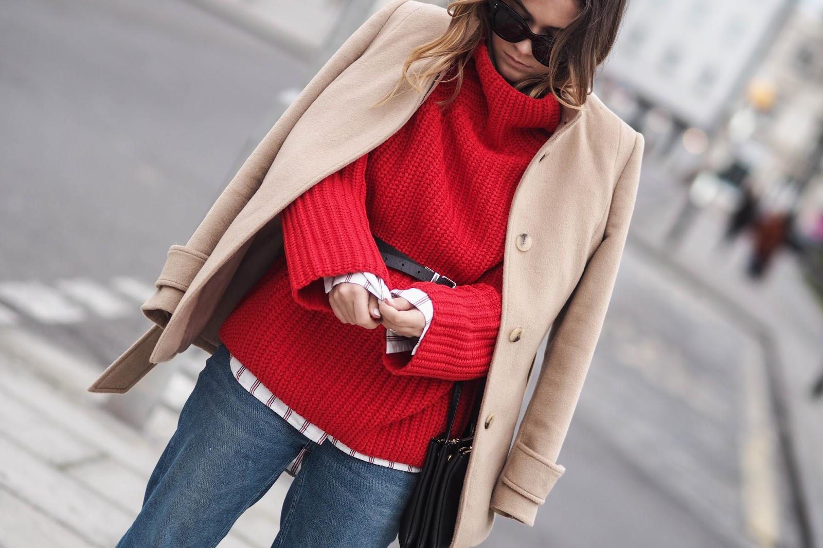 яркий свитер с чем носить фото 22